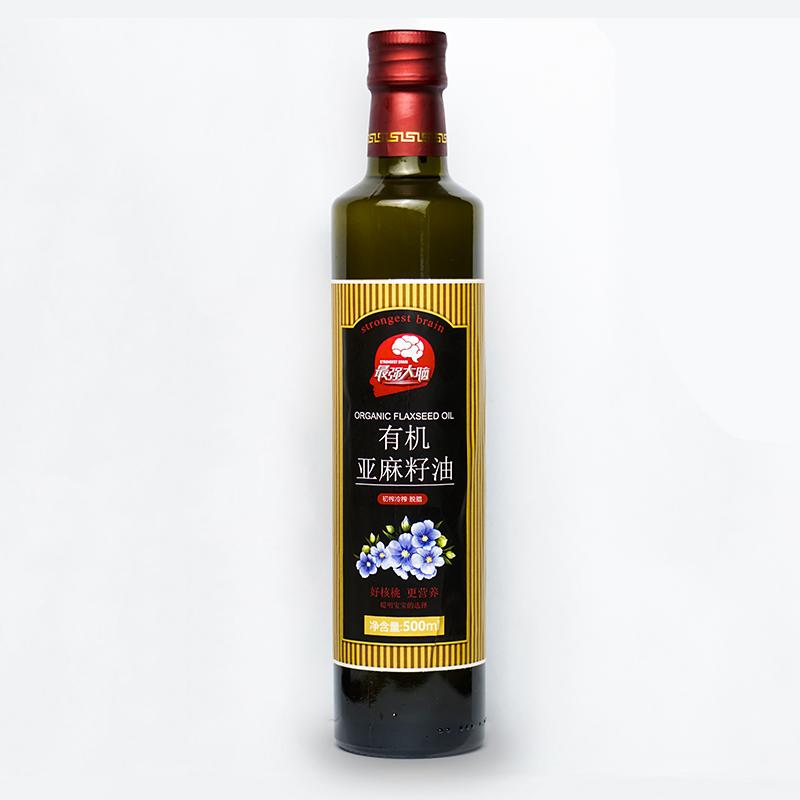 大瓶有机亚麻籽油, 米面粮油招商