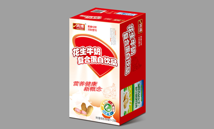 山东鸿博 花生牛奶厂家招县级代理商