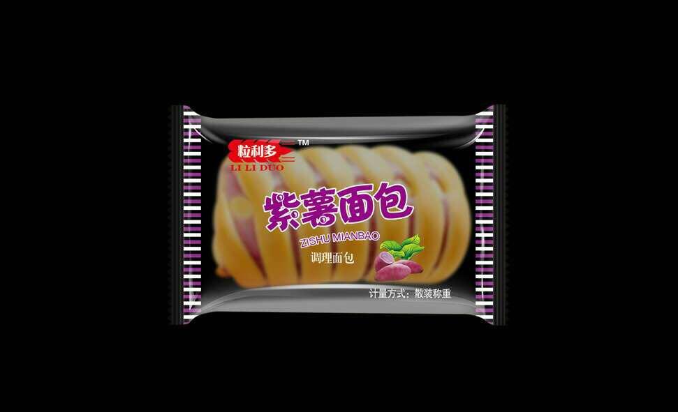 龙海紫薯面包批发,漳州果味面包代理