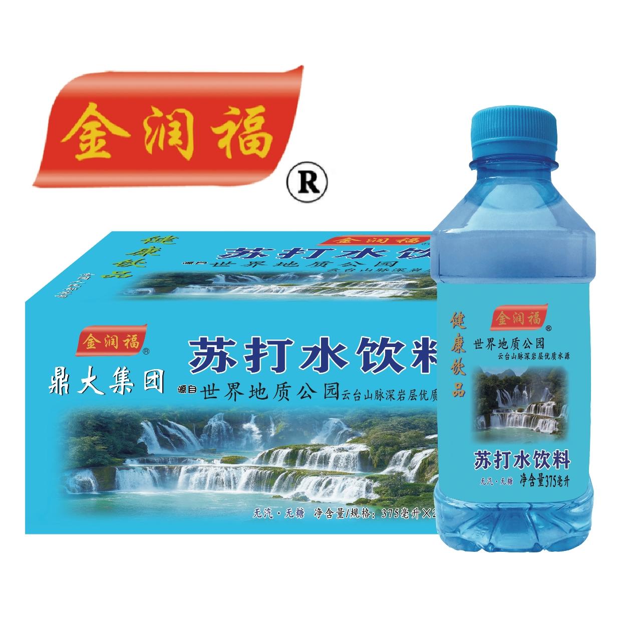 金润福苏打水375mlx24