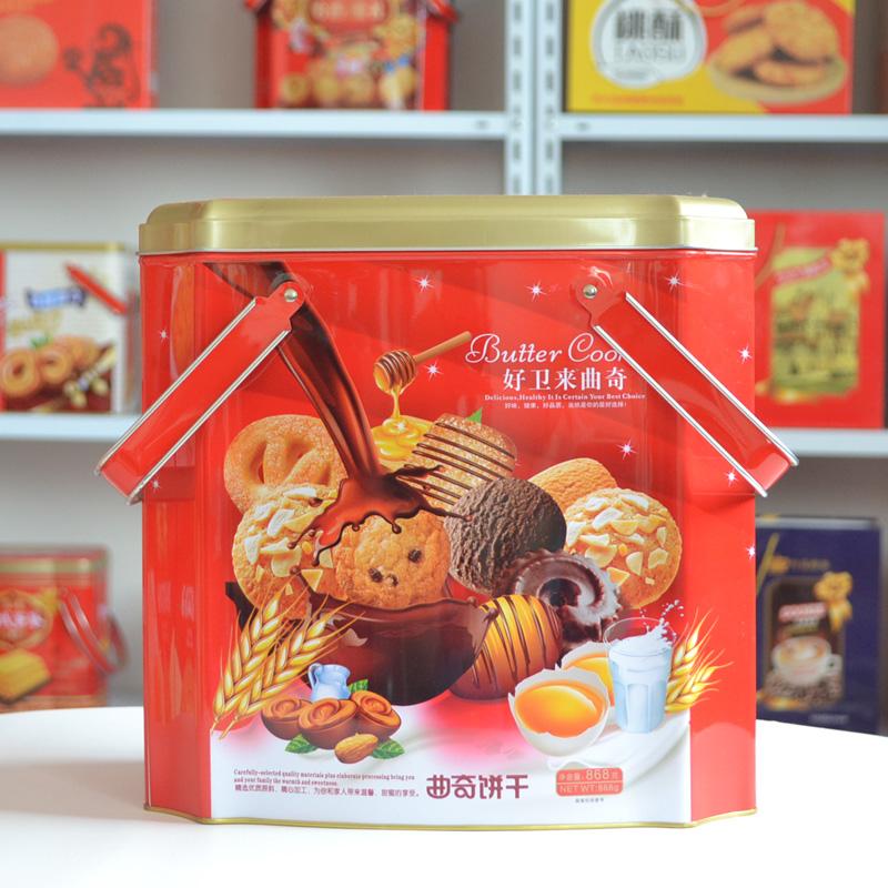 中秋礼盒饼干_礼盒食品厂家直销_猴姑饼干礼盒