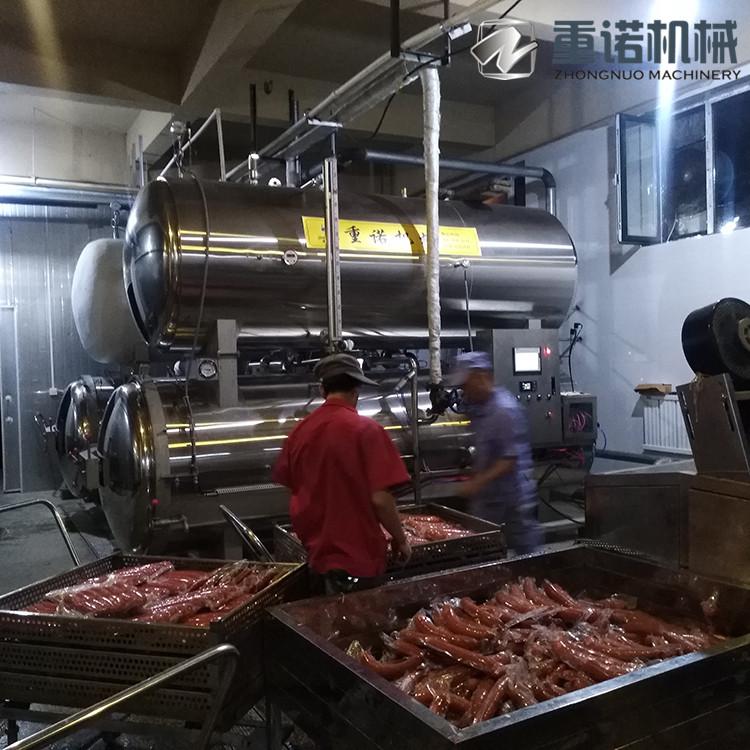 彩糯玉米杀菌锅 香肠高温杀菌锅