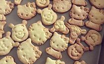 奶味卡通黄油饼干的做法