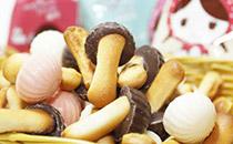 巧克力蘑菇饼干的做法