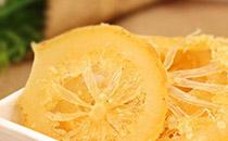 自制柠檬果脯干的做法