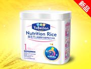 雅倍健益生元山楂健胃护肠营养配方米粉1段