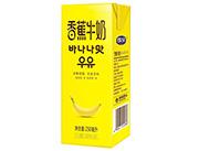 新希望蝶泉香蕉牛奶250ml