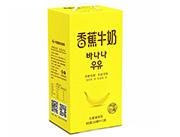 新希望蝶泉香蕉牛奶250ml×12盒