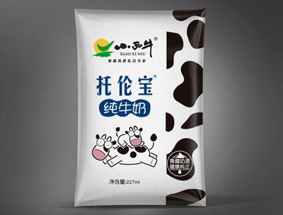 小西牛托伦宝纯牛奶