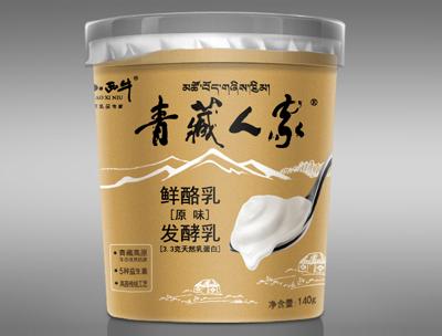 小西牛青藏人家鲜酪乳原味发酵乳