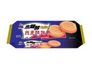 老布特126克木糖醇燕麦酥饼干