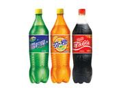 力尔玛雪柠檬、芬橙、可乐碳酸饮料