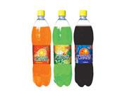 力尔玛甜橙、柠檬、可乐碳酸饮料