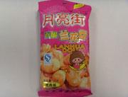红健30g月亮街兰花豆烤肉味