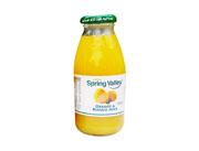 春之谷橙子和热情果果汁