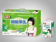 栗子园酸酸果乳(原味)乳味饮品