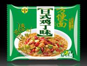 满口香日式鸡丁味方便面