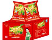 绿泰一根葱膨化食品红包装