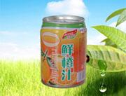 240ml易拉罐鲜橙汁