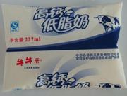 牛牛乐高钙低脂奶227ml