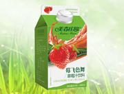 美森庄园468莓飞色舞草莓汁饮料