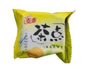 麦点菊花茶饼干