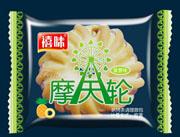 福建龙海禧味摩天轮菠萝味面包称重