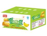 福建龙海禧味蝴蝶面包香蕉味箱装
