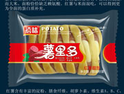 福建龙海禧味薯里多红薯面包