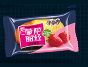 福建龙海蒙萨丽丝酸奶草莓蛋糕