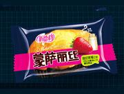 福建龙海蒙萨丽丝酸奶草莓口味蛋糕