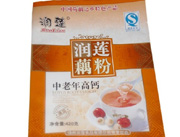 润莲藕粉中老年高钙420克