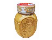 300g扁土陶罐