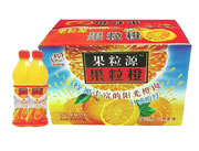 银河饮品果粒橙