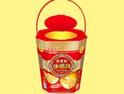 百吉�沙琪��香酥味26cm八角桶