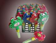 联通玩具糖螃蟹玩具糖