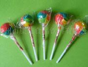五色球棒棒糖