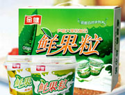 鲜果粒(黄桃-芦荟大果粒酸奶)