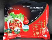 1000克牛肉汤锅(香辣味)