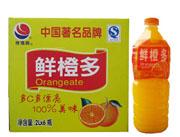 鲜橙多外箱和鲜橙多