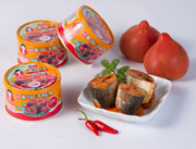 好妈妈麻辣番茄汁鲭鱼罐头