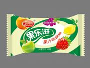 佳冠园绿色包装水果味硬糖