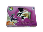 麦烧王紫薯牛奶夹心口味