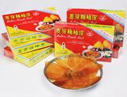 江南麦芽糖柚皮-红色纸盒