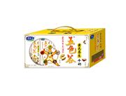 五色谷黄色养生牛奶250ml×12盒