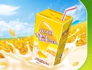 银鹭麦香牛奶