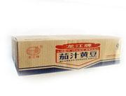 龙江牌茄汁黄豆箱装