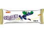 牛奶蓝莓夹心雪糕