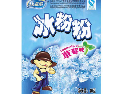 康雅酷冰粉粉草莓味