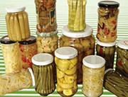 各种规格蔬菜罐头
